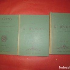 Libros: L'AVENS. REVISTA MENSUAL FACSIMIL DE LETERADURA DE 1978. DE LOS AÑOS 1882 A 1884. Lote 171577759