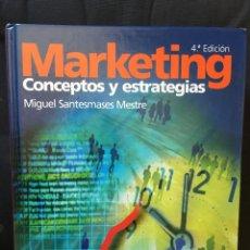 Libros: MARKETING CONCEPTOS Y ESTRATEGIAS - MIGUEL SANTESMASES MESTRE +CD. Lote 171592639