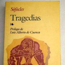 Libros: TRAGEDIAS. Lote 171644425