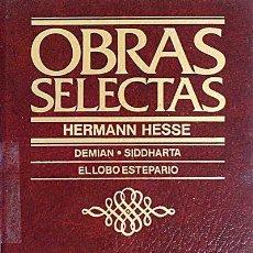 Libros: OBRAS SELECTAS. HERMANN HESSE - HERMANN HESSE. Lote 100504355