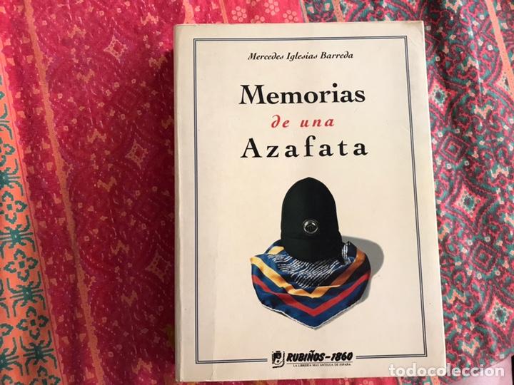 MEMORIAS DE UNA AZAFATA. MERCEDES IGLESIAS. RUBIÑOS (Libros sin clasificar)