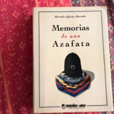 Libros: MEMORIAS DE UNA AZAFATA. MERCEDES IGLESIAS. RUBIÑOS. Lote 171966672