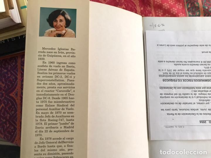 Libros: Memorias de una azafata. Mercedes Iglesias. Rubiños - Foto 3 - 171966672