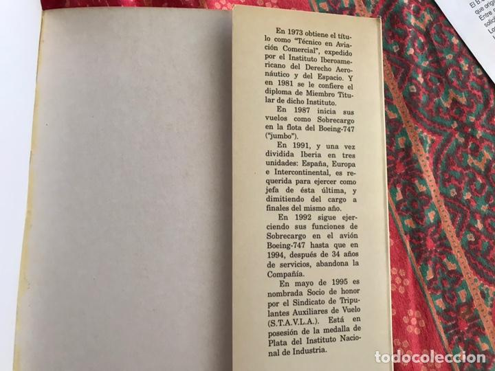 Libros: Memorias de una azafata. Mercedes Iglesias. Rubiños - Foto 5 - 171966672