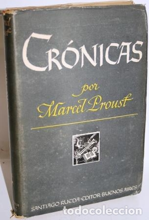 CRÓNICAS - PROUST, MARCEL (Libros sin clasificar)