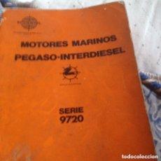 Libros: SAVA J4 PEGASO INTRUCCIONES ENTRETENIMIENTO. Lote 172720683
