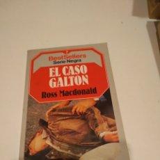 Libros: C-ARIS58 LIBRO EL CASO GALTON ROSS MACDONALD. Lote 227660040
