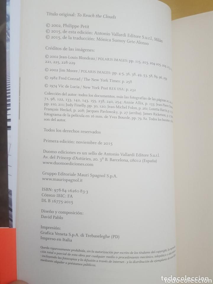 Libros: LIBRO / EL DESAFIO (THE WALK) - PHILIPPE PETIT - Foto 2 - 172905889