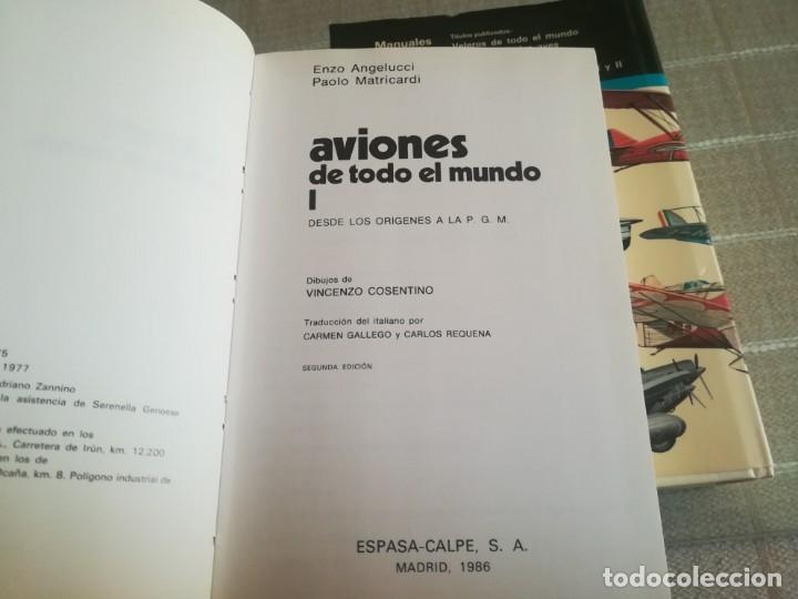 Libros: AVIONES DE TODO EL MUNDO TOMO 1 Y 2 ESPASA CALPE - Foto 5 - 173010062