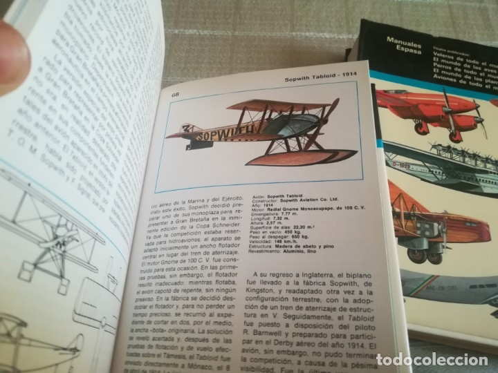 Libros: AVIONES DE TODO EL MUNDO TOMO 1 Y 2 ESPASA CALPE - Foto 11 - 173010062