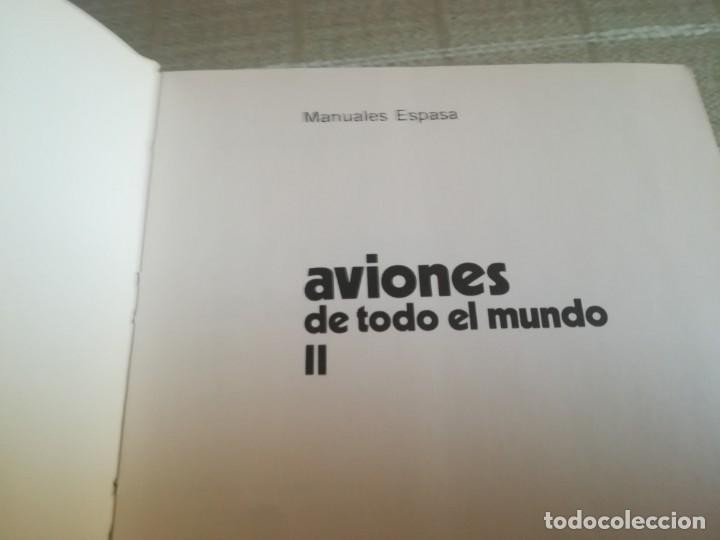 Libros: AVIONES DE TODO EL MUNDO TOMO 1 Y 2 ESPASA CALPE - Foto 13 - 173010062
