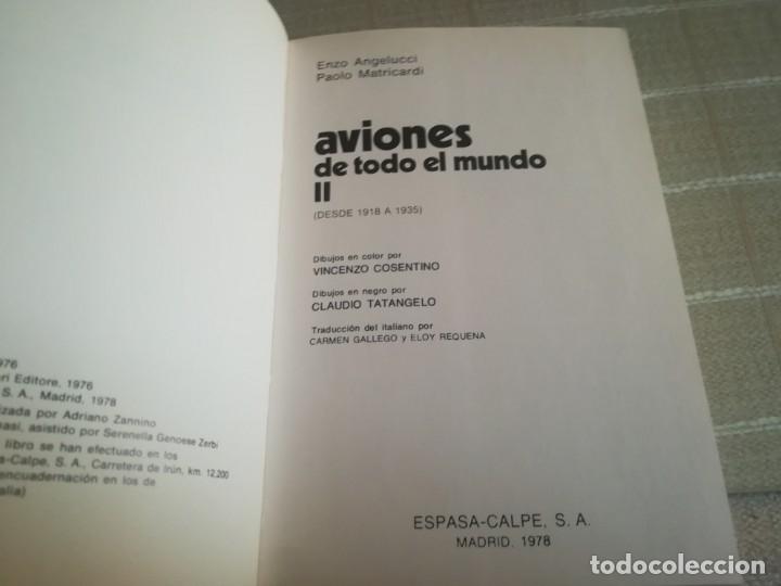 Libros: AVIONES DE TODO EL MUNDO TOMO 1 Y 2 ESPASA CALPE - Foto 14 - 173010062