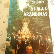 Libros: RIMAS ARANDINAS. Lote 173040103