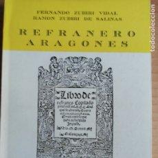 Libros: REFRANERO ARAGONES - COLECCION ARAGON Nº43. Lote 173155005