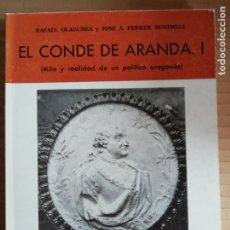 Libros: EL CONDE DE ARANDA I - COLECCION ARAGON Nº26. Lote 173155808