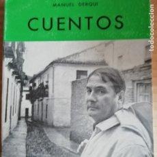Libros: CUENTOS MANUEL DERQUI - COLECCION ARAGON Nº22. Lote 173155898