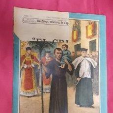 Libros: BANDIDOS CELEBRES DE ESPAÑA. EL CRISTO. NUEVA BIBLIOTECA. 1ª SERIE. TOMO UNICO. Lote 173169097