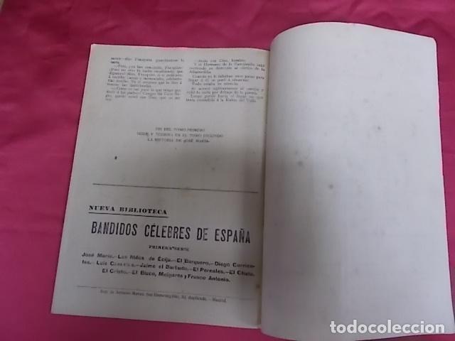Libros: BANDIDOS CELEBRES DE ESPAÑA. JOSÉ MARÍA. NUEVA BIBLIOTECA. DOS TOMOS - Foto 4 - 173170303