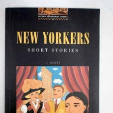 Libros: NEW YORKERS : SHORT STORIES. Lote 173178519