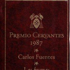 Libros: LAS BUENAS CONCIENCIAS - CARLOS FUENTES. Lote 173361178