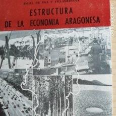 Libros: ESTRUCTURA DE LA ECONOMIA ARAGONESA -COLECCION ARAGON Nº13. Lote 173381654