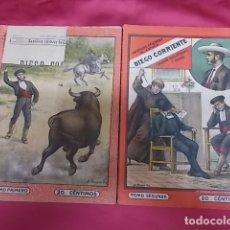 Libros: BANDIDOS CELEBRES DE ESPAÑA. DIEGO CORRIENTE. NUEVA BIBLIOTECA. DOS TOMOS. 1ª SERIE. Lote 173422937