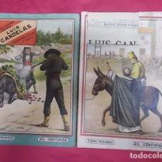 Libros: BANDIDOS CELEBRES DE ESPAÑA. LUIS CANDELAS. NUEVA BIBLIOTECA. DOS TOMOS. 1ª SERIE. Lote 173423455