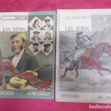Libros: BANDIDOS CELEBRES DE ESPAÑA. LOS NIÑOS DE ECIJA. NUEVA BIBLIOTECA. DOS TOMOS.. Lote 173424190