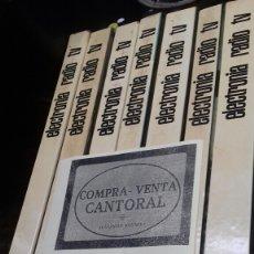 Libros: ELECTRONICA RADIO TV. AFHA. 7 VOL.. Lote 173807193