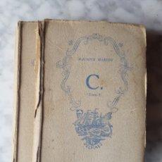 Libros: LIBROS MAURICE BARING C. TOMO I Y TOMÓ II 6 DELFINES 1942. Lote 174059107
