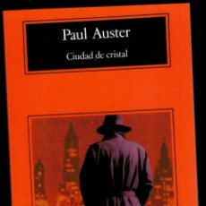 Libros: CIUDAD DE CRISTAL - PAUL AUSTER. Lote 174143912