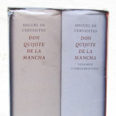 Libros: CERVANTES, M.: DON QUIJOTE DE LA MANCHA (2 VOLS,) (CÍRCULO DE LECTORES / GALAXIA GUTENBERG) (CB). Lote 174173963