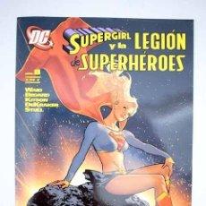 Libros: SUPERGIRL Y LA LEGIÓN DE SUPERHÉROES. NÚM 8. Lote 198384470