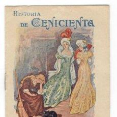 Libros: HISTORIA DE CENICIENTA - REGALO A LOS PEQUEÑOS CONSUMIDORES DE LA HARINA LACTEADA NESTLÉ. Lote 174389829