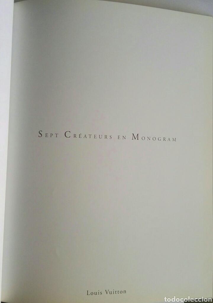 Libros: louis vuitton sept createurs en monogram tapa dura - Foto 2 - 174420079