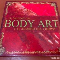 Libros: EL MUNDO DEL BODY ART Y EL ADORNO DEL CUERPO. TATUAJES. MUY ILUSTRADO. 127PAGS, MIDE 15X15CM. Lote 175026804