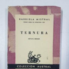 Libros: TERNURA / GABRIELA MISTRAL. Lote 175080069