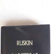 Libros: LAS PIEDRAS DE VENECIA - JOHN RUSKIN. Lote 175458983