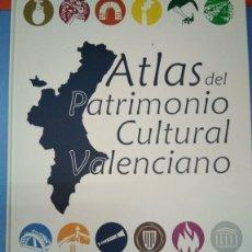 Libros: ATLAS DEL PATRIMONIO CULTURAL VALENCIANO. ED LEVANTE 2011. Lote 175484065