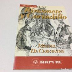 Libros: BIBLIOTECA DE EL SOL. RINCONETE Y CORTADILLO. MIGUEL DE CERVANTES. NR 138. Lote 175515962