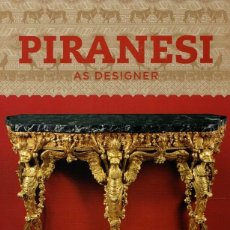 Livres: PIRANESI AS DESIGNER - VVAA. Lote 176044003