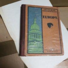 Libros: LECTURAS GEOGRÁFICAS, EUROPA, SEIX BARRAL. Lote 176290707