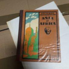 Libros: LECTURAS GEOGRÁFICAS, ASIA Y AMÉRICA,.SEIX BARRAL, 1941. Lote 176290995