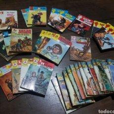 Libros: LOTE 35 NOVELAS DEL OESTE. ESTEFANÍA, SILVER KANE, RALPH BARBY, GORDON LUMAS LARRY HUTTON TEX TAYLOR. Lote 176294810