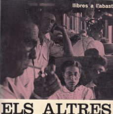 Livres: 0031756 ELS ALTRES CATALANES / FRANCESC CANTEL. Lote 176299933