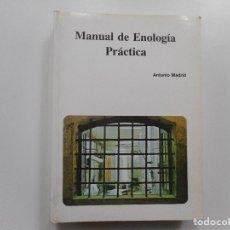 Libros: ANTONIO MADRID MANUAL DE ENOLOGÍA PRÁCTICA Y95995. Lote 176559320