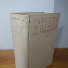 Libros: THEOLOGIAE MORALIS COMPENDIUM, I, 1958. Lote 176568863