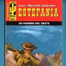 Livros: NOVELA DE ESTEFANÍA EDICIÓN BRONCO OESTE TÍTULO UN HOMBRE DEL OESTE . Lote 176639933