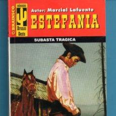 Libros: NOVELA DE ESTEFANÍA EDICIÓN BRAINSCO BRONCO OESTE TÍTULO SUBASTA TRÁGICA Nº 223 BO UNA ESTRELLA. Lote 176640385