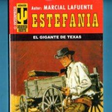 Livros: NOVELA DE ESTEFANÍA EDICIÓN INTERPRESS BRONCO OESTE TÍTULO EL GIGANTE DE TEXAS Nº392 BO UNA ESTRELLA. Lote 176640583
